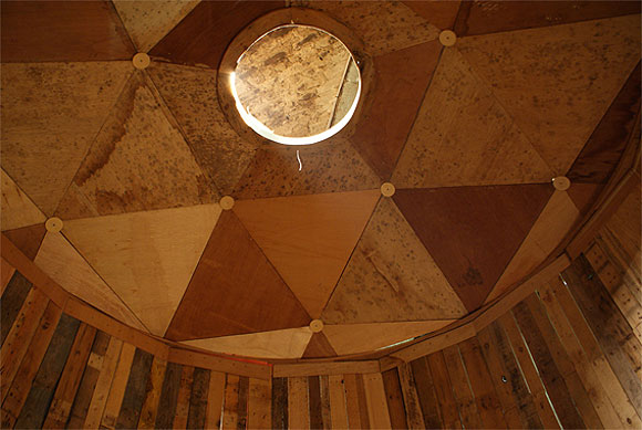 Alan Bond Pantheon Rotor ceiling