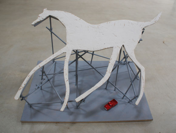 Alan Bond, Chalk Horses model